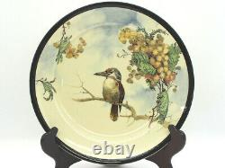 Royal Doulton Art Deco Kookaburra and Wattle D4206 Serving Plate c. 1920