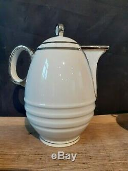 Service à café complet Art Déco 1930 en porcelaine de Limoges Charles Ahrenfeldt