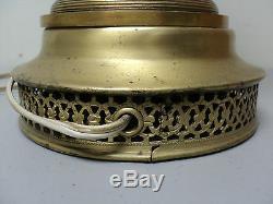 Sevres Paul Milet / Millet French Flambe Porcelain Lamp, Gilt Bronze Ormolu