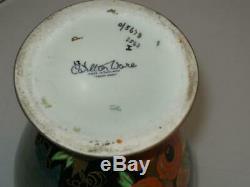 Stunning Carlton Ware Art Deco Nightingale 3562 Porcelain Vase