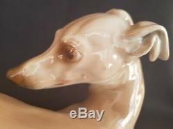 Superb Large Porcelain Germany Rosenthal Statue of Dog by T. Karner 1930s