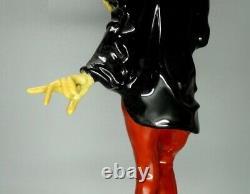Vintage Mephistopheles Demon Porcelain Figure Hutschenreuther Germany 1975 Decor