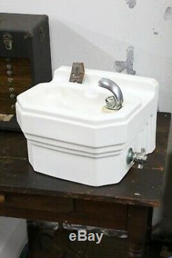 Vintage Standard Drinking Water Fountain Art Deco Porcelain School House Wall