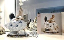 Wallendorf porcelain figurine Bouquet Germany Schaubach Kunst ballerina dancer