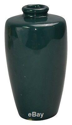 Weller Pottery JAP Birdimal Barefoot Man Vase (Artist Signed)